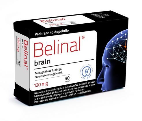 Belinal Brain 120mg, 30 kps