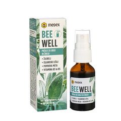 Beewell žajbelj in islandski lišaj 20 ml, Medex