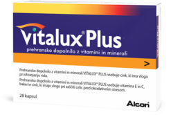 Vitalux Plus Omega 160mg/10mg, kapsule 28, Alcon