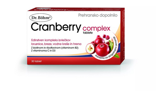 Dr.Bohm cranberry complex, 30 tablet