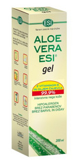 ESI ALOE VERA gel z vitaminom E in oljem čajevca, 100 ml