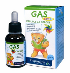 Fitobimbi Gas, kapljice - 30ml