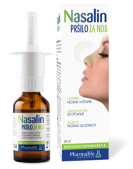 Nasalin pršilo 20 ml, Pharmalife