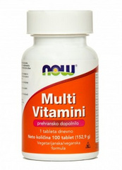 Multivitamini, NOW