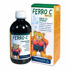 FERRO-C bimbi sirup 200 ml, Pharmalife