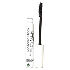 Rougj, Maskara Long Lasting 24h Black 10ml - dolgo obstojna
