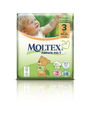 Moltex Nature Eco NO.1 Midi, 4-9 kg , 1pkt
