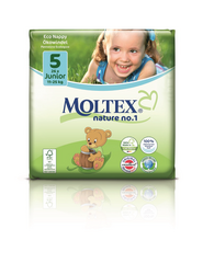 Moltex Nature Eco NO.1 Junior, 11-25 kg, 1pkt