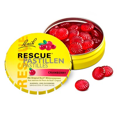 Bach rescue pastile 50 g (brusnica)