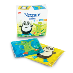 ColdHot Happy Kids vrečka a 2 kosa, Nexcare