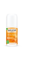 Deodorant roll-on 24h- rakitovec 50ml, Weleda
